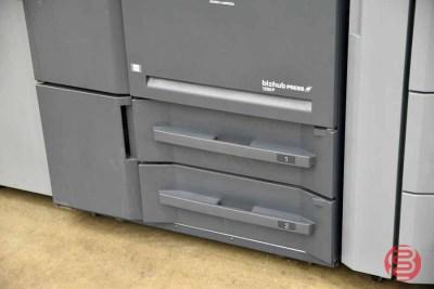 2012 Konica Minolta bizhub Press 1250p Digital Print Station - 081221025050