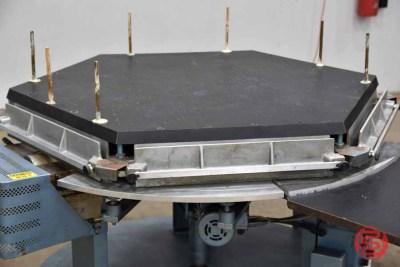 Brackett High-Speed Automated Circular Padder w/ Conveyor - 083021015833