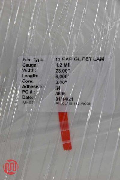 Clear GL Pet Lamination Film (8,000ft) - 073021084911