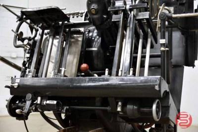 Heidelberg 10in x 15in Red Ball Windmill Letterpress - 082121102028