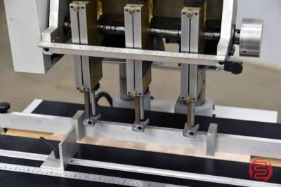 Heidelberg ND5C-M-3 Three Spindle Hydraulic Paper Drill - 080221075121