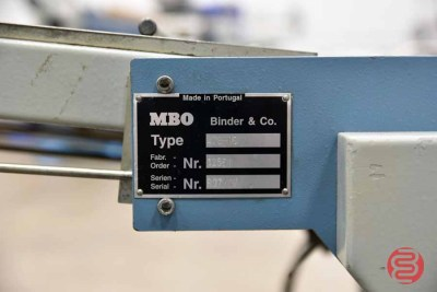 MBO B26 Continuous Feed Paper Folder w/ 8 Page Unit and Mobile Delivery - 081321090230