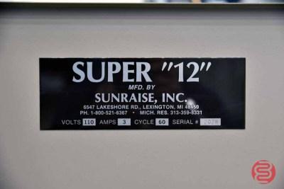 Sunraise Super 12 BC Business Card Slitter - 0811566114514
