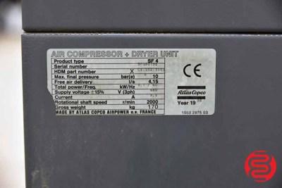 Atlas Copco Air Compressor and Dryer Unit - 090221103121