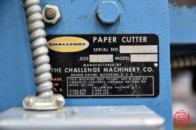 Challenge 305 HBE 30.5in Hydraulic Paper Cutter - 092421014811