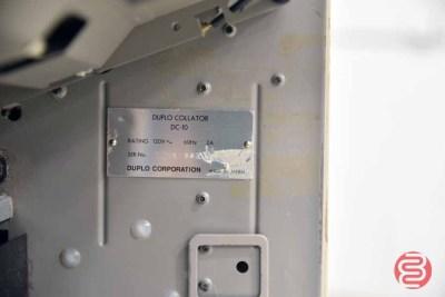 Duplo DC-10 Mini 10 Bin Collator - 083121124150