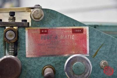 Pierce Perf-A-Matic P15 Table Top Perf Slit Score Machine - 092421112646