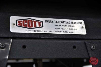 Scott Heavy Duty Index Tabcutting Machine - 083121081912
