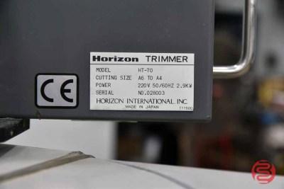 Horizon HT-70 Three Knife Trimmer - 100421011155