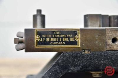 JF Helmold and Bro Cutting & Creasing Rule - 093021101940
