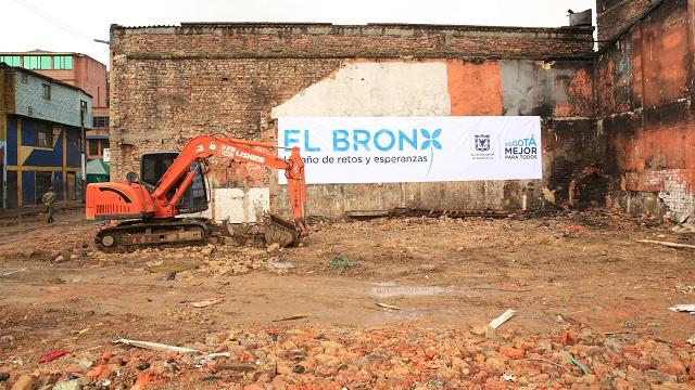 Presentación planes de renovación del Bronx - Foto: Comunciaciones Alcaldía Mayor de Bogotá / Diego Bauman