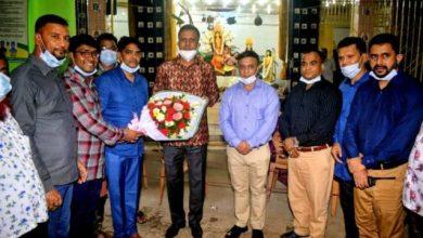 Photo of বগুড়ায় শারদীয় দূর্গাপূজা পরিদর্শনে রাজশাহী রেঞ্জের ডিআইজি আব্দুল বাতেন