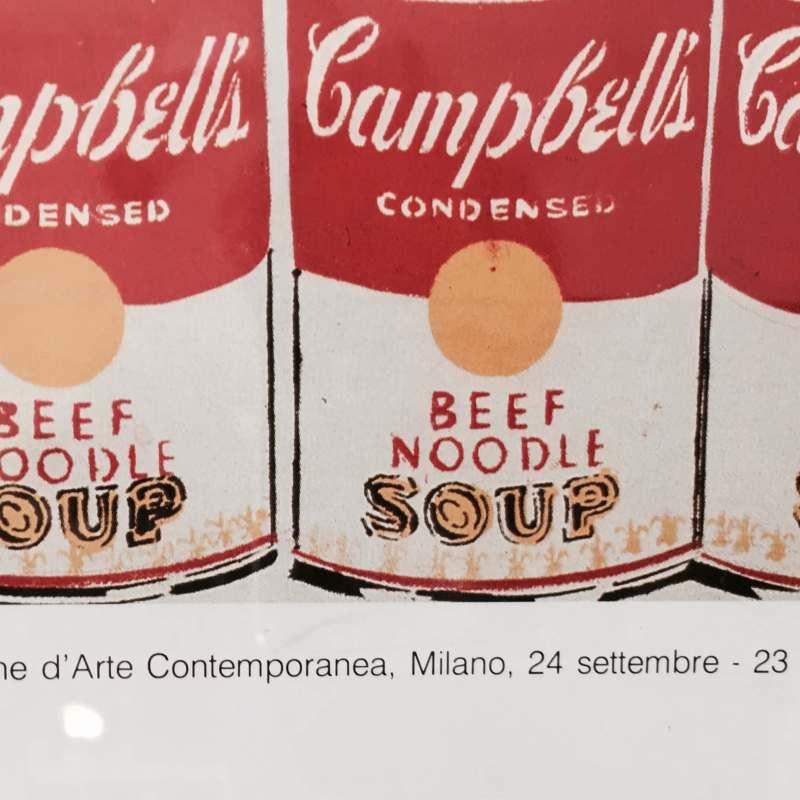 Andy Warhol locandina originale