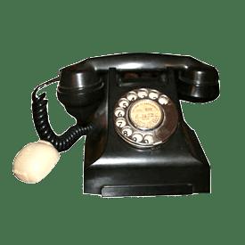 Telefono Siemens nero