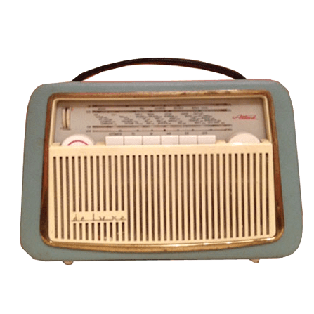 Radio Akkord Pinguin U62 de Luxe