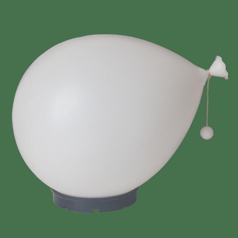 Lampada palloncino bianca