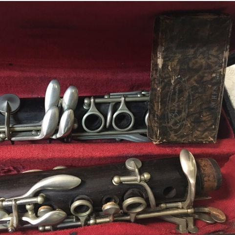Clarinetto Meazzi particolare