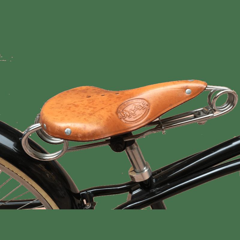 Bicicletta Limousine sella in cuoio