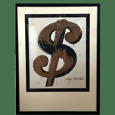 Serigrafia Dollaro