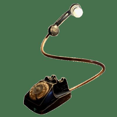 Siemens-telefono-lampada