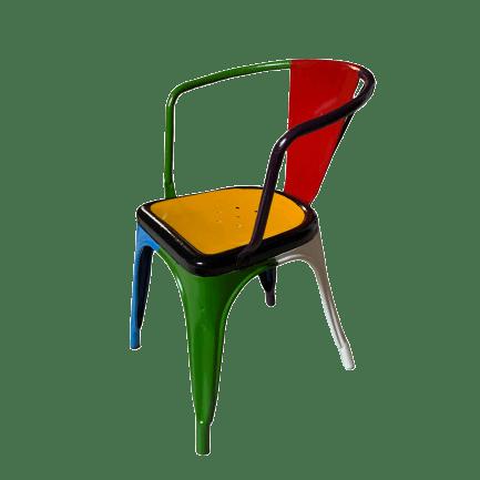 sedia-restaurata-pop-art
