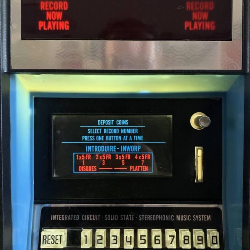 Jukebox Rockola dettaglio