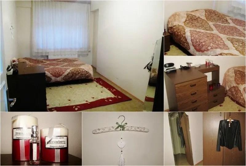 Slaapkamer van mijn eerste appartement in Istanbul