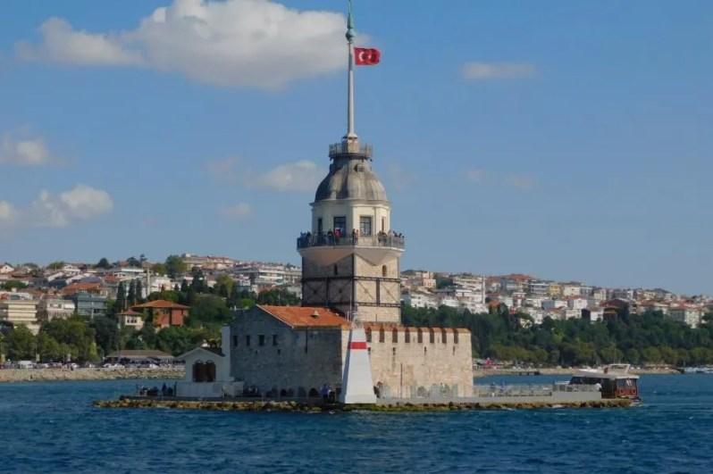 Kız Kulesi in Istanbul