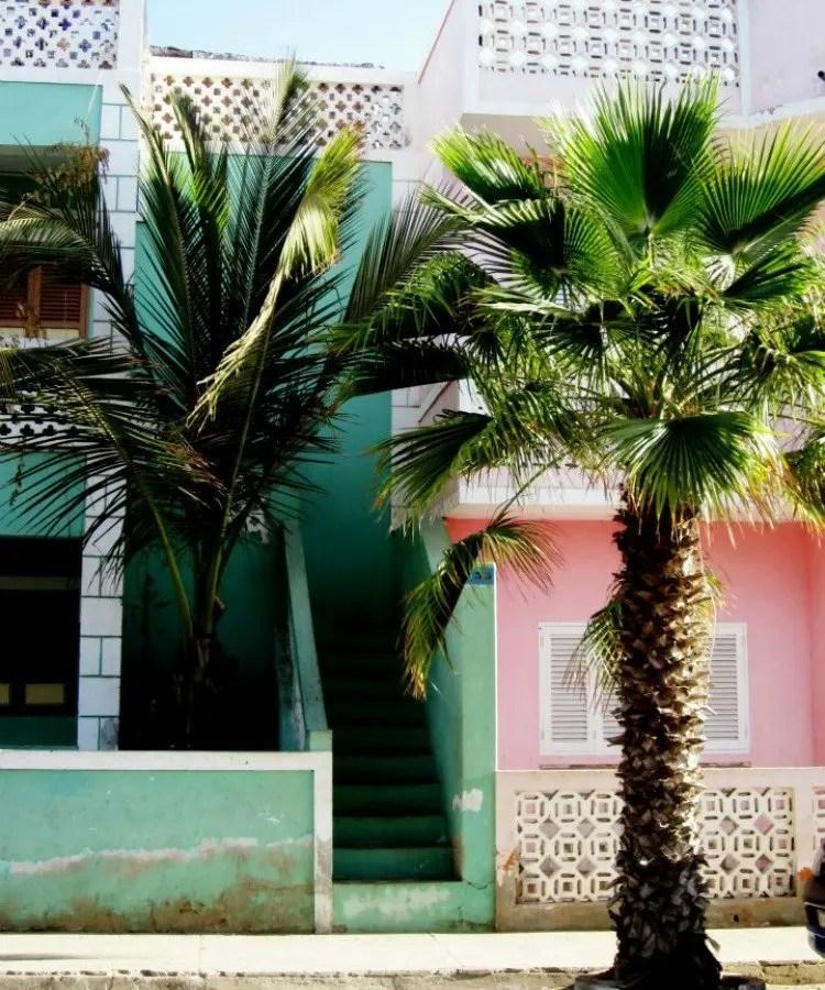 Santa Maria op Kaapverdië