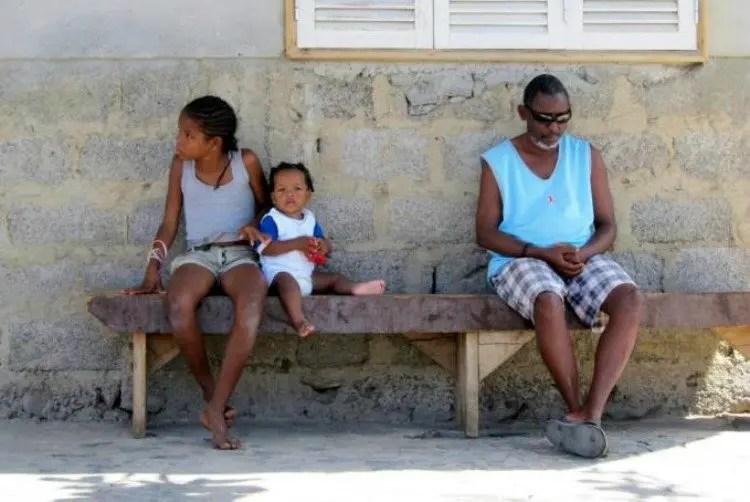 Lokale bevolking op de Kaapverdische Eilanden