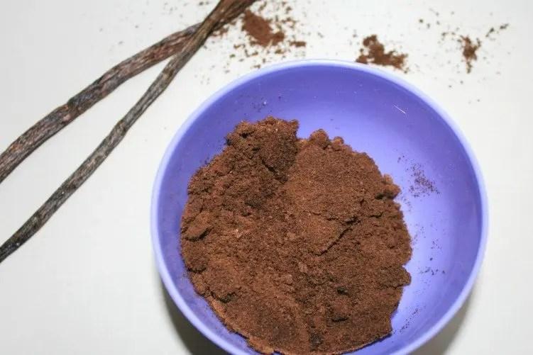 Koffie scrub