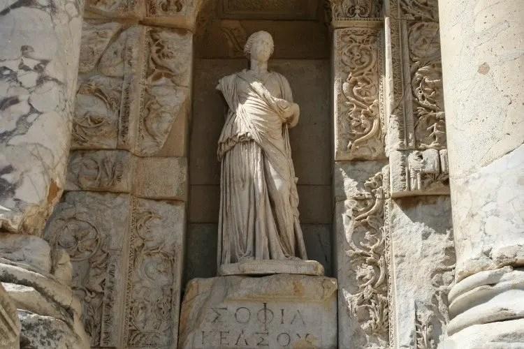 Efes Bibliotheek