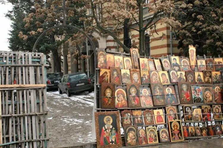 Bulgaria Sofia Alexander Nevsky Flea Market