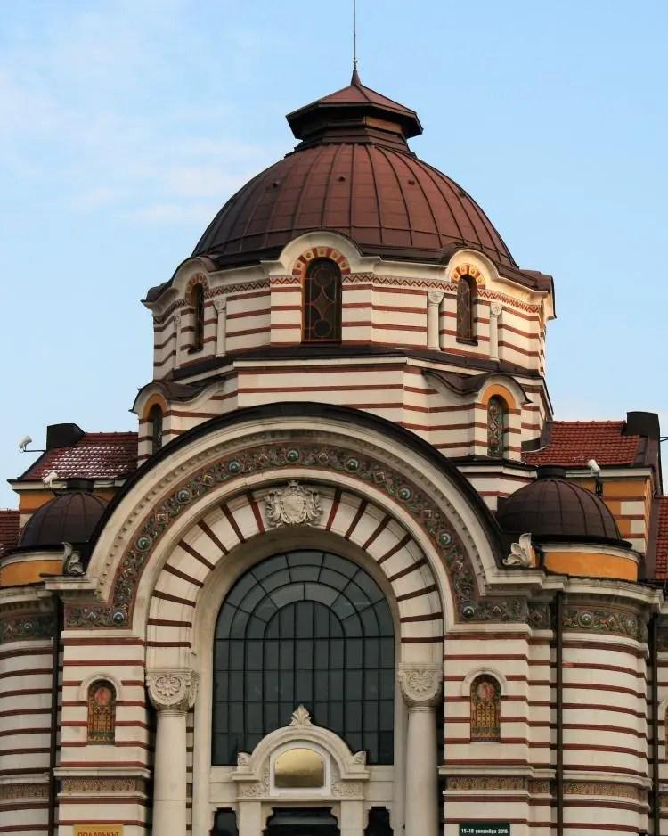 Sofia Bulgaria The Central Mineral Baths