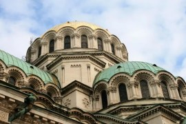 The Alexander Nevsky cathedral Sofia Bulgaria
