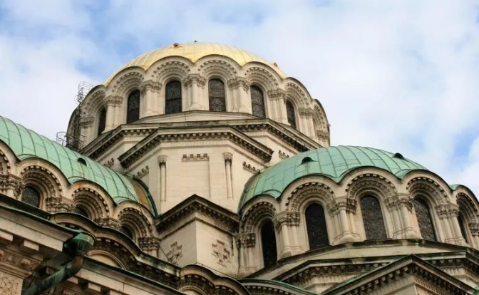 The Alexander Nevsky cathedral Sofia Bulgaria
