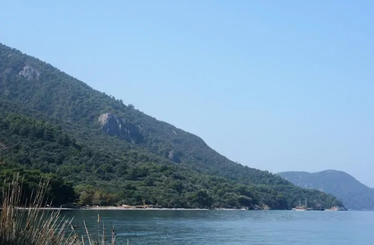 Milli Park Dilek Yarimadasi nabij Kusadasi
