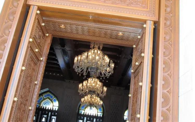 Bezoek de prachtige Sultan Qaboos moskee in Oman