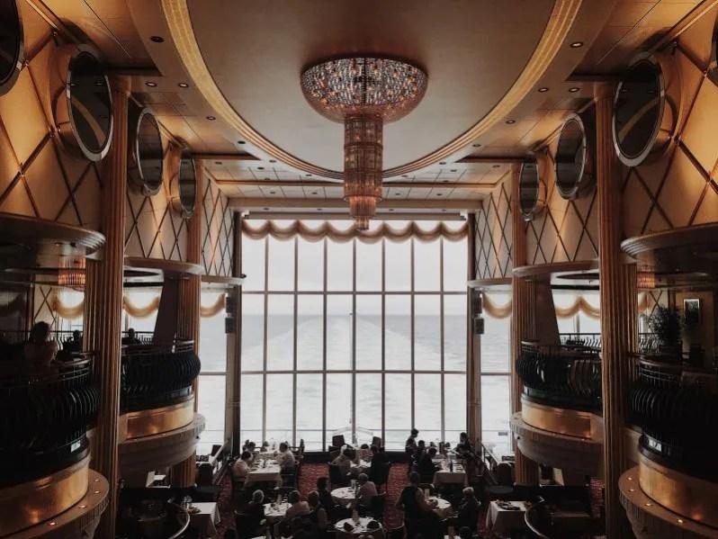 Binnenkant van een cruiseschip