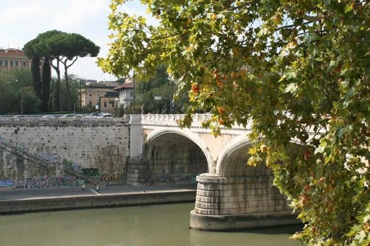 Rivier de Tiber in Rome