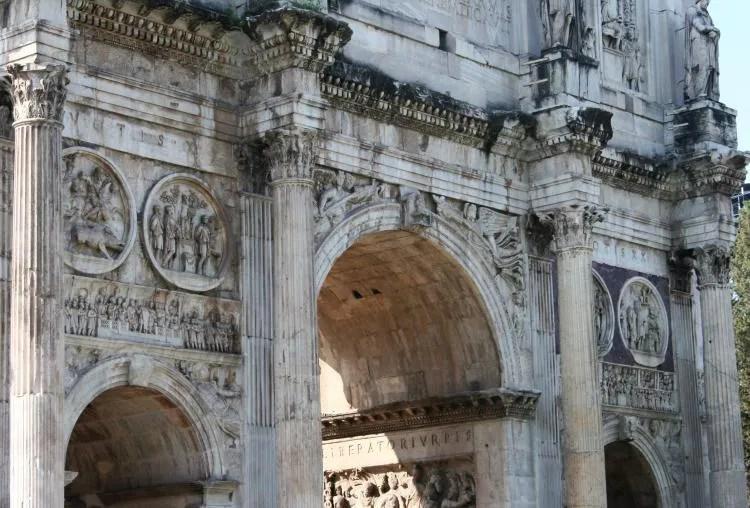 Rome in een dag - het forum Romanum