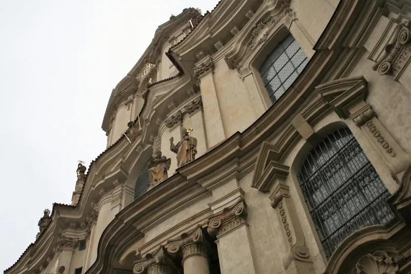 Prachtige gebouwen in Praag