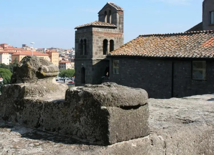 Het stadje Viterbo is een van de mooist bewaard gebleven steden van Italië