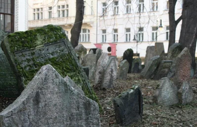 De Joodse begraafplaats in Praag