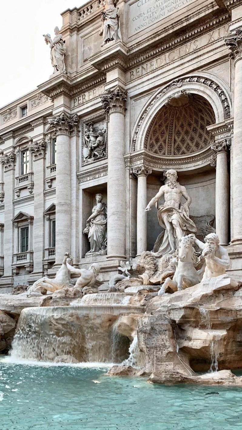 De Trevi fontein in Rome