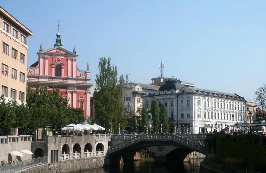 Rivier in Ljubljana