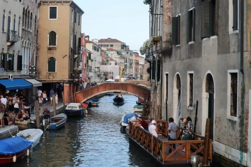Druk in Venetië