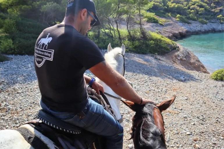 Paardrijden met Agistri Horse Riding