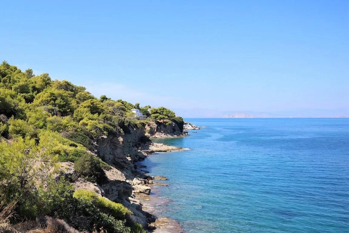 Skliri op Agistri in Griekenland
