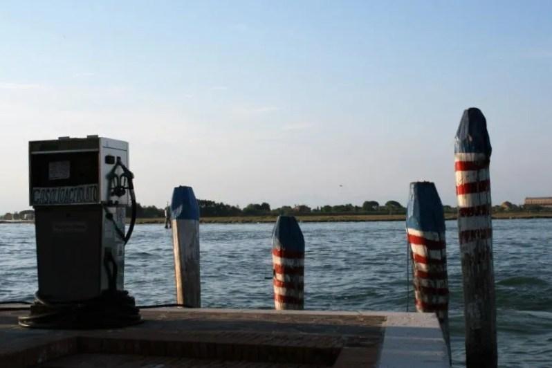 Eilandhoppen in de lagune van Venetië